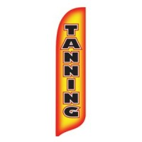2 x 12 ft. Tanning Blade Flag - Product Image