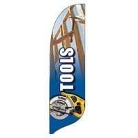 2 x 12 ft. Tools Blade Flag - Product Image