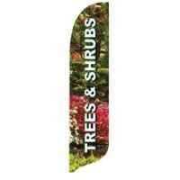 2 x 12 ft. Trees & Shrubs Blade Flag