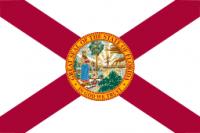 """12"""" X 18"""" Florida Flag - Nylon - Product Image"""