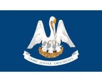 """12"""" X 18"""" State of Louisiana Flag - Nylon - Product Image"""