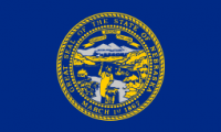 "12"" x 18"" State of Nebraska Flag - Nylon - Product Image"