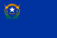 "12"" x 18"" State of Nevada Flag - Nylon - Product Image"