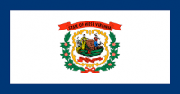 "12"" X 18"" State of West Virginia Flag - Nylon - Product Image"
