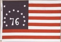 2' X 3' Bennington Flag - Nylon - Product Image