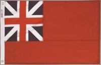 2' X 3' British Red Ensign Flag - Nylon - Product Image