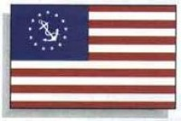 2' X 3' Yacht Ensign Flag - Product Image