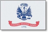 2' X 3' United States Army Flag - Nylon - Product Image