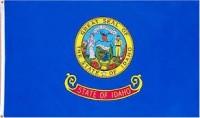 3' X 5' State of Idaho Flag - Nylon - Product Image