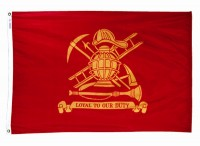 3' X 5' Fireman's Loyal (Firefighter) Flag