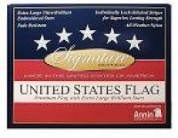 3' X 5' Signature American Flag - Product Image