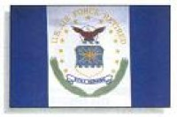 3' X 4' United States Air Force Retired Flag - Nylon - Product Image