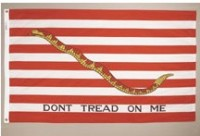 3' X 5' First Navy Jack Flag - Nylon - Product Image