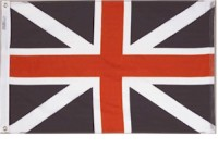 3' X 5' Kings Colors Flag - Nylon - Product Image