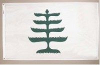 3' X 5' Pine Tree Flag - Nylon - Product Image