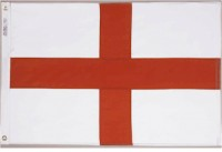 3' X 5' Saint George Cross Flag - Nylon - Product Image
