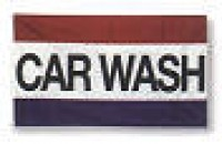 3' x 5' CAR WASH Flag