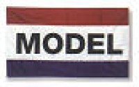 3' x 5' MODEL Flag - Product Image