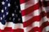 4-1/3 ft. X 5-1/2 ft. Indoor American Flag - No Fringe - Product Image
