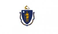 4' X 6' State of Massachusetts Flag - Nylon - Product Image
