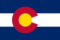 5' X 8' Colorado Flag - Nylon - Product Image
