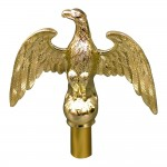 7 in. Styrene Eagle Ornament - Product Image