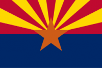 8' X 12' Arizona Flag - Product Image