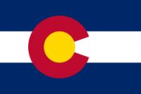 8' X 12' Colorado Flag - Nylon - Product Image