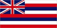 8' X 12' State of Hawaii Flag - Nylon - Product Image