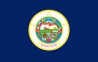 8' X 12' State of Minnesota Flag - Nylon - Product Image