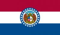 8' X 12' State of Missouri Flag - Nylon - Product Image