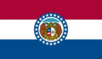 8' X 12' State of Missouri Flag - Nylon - Product Image