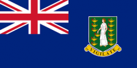 British Virgin Islands Nylon Flag