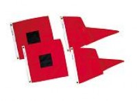No. 2 U.S. Storm Signal Flag Set - Product Image