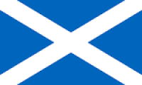 St. Andrews Cross (Scotland) Nylon Flag