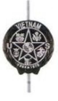 Vietnam Grave Marker - Aluminum - Product Image