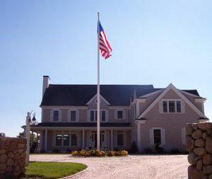 Fiberglass Residential Flag Poles