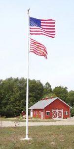 Commercial Fiberglass Flag Poles