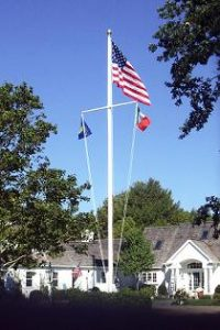 Nautical Flag Pole