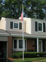 Aluminum Residential Flag Poles